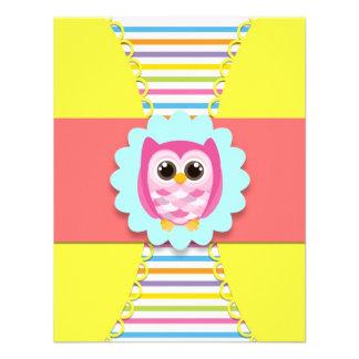 Owl Birthday Invitation for Kids