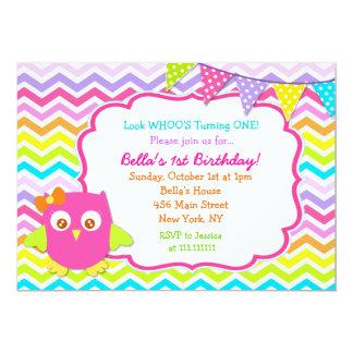 owl st birthday invitations  announcements  zazzle, Birthday invitations