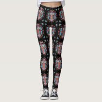 Owl Blooms with Love ~ Leggings