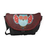 Owl Boheme Blu Courier Bags