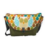 Owl Boheme White Owl Courier Bag
