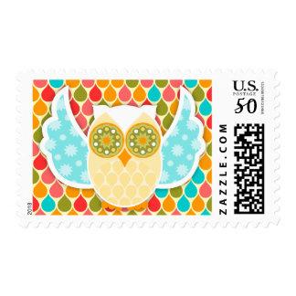 Owl Boheme White Owl Postage