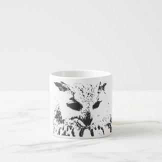 Owl Bone China 6 Oz Ceramic Espresso Cup