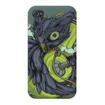 Owl & Bong (Purple) iPhone4/4S Case