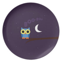 OWL BOO - Bhúo Plate
