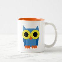 OWL BOO Two-Tone COFFEE MUG