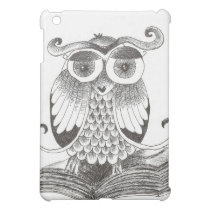 Owl book iPad mini case