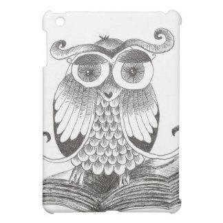 Owl book iPad mini case
