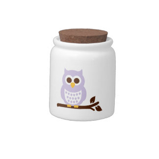 Owl branch candy dish