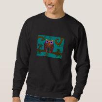 Owl Branch Dark Sweatshirt