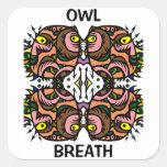 Owl Breath Stickers