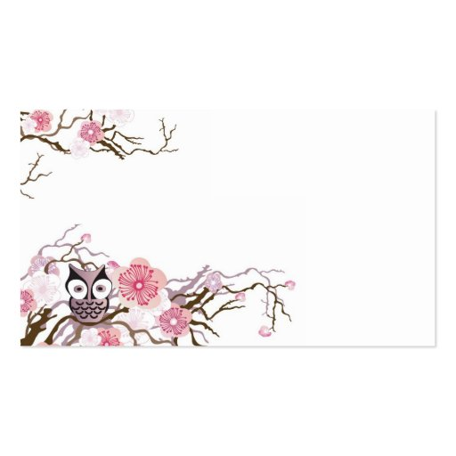 Owl business card zazzle for Owl business cards