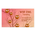 Owl Business Cards
