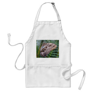 Owl Butterfly Adult Apron