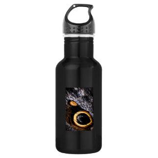 Owl Butterfly wing spots 18oz Water Bottle