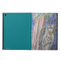 Owl by night one iPad air case