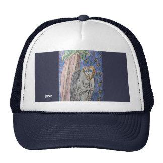 Owl by night one trucker hat