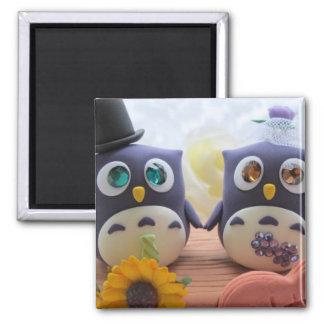 owl cake topper magnet