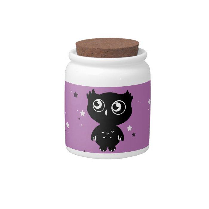 Owl Candy Dish