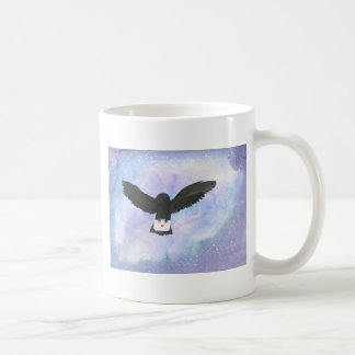 Owl Carrying Mail Coffee Mug