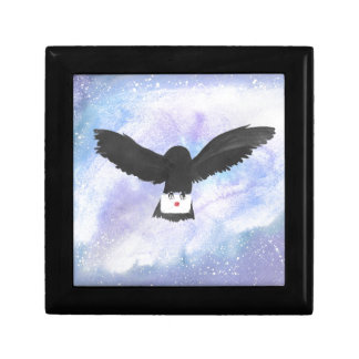 Owl Carrying Mail Gift Box