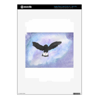 Owl Carrying Mail iPad 3 Skins