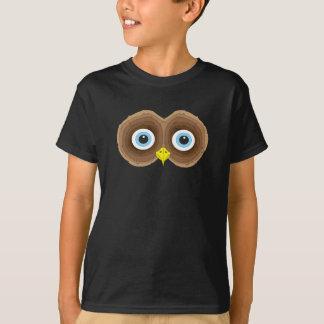 Owl Cartoon Face T-Shirt