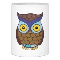 Owl cartoon flameless candle