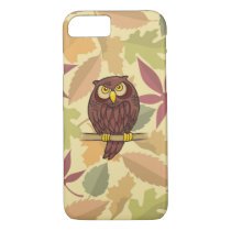 Owl Cartoon iPhone 7 Case