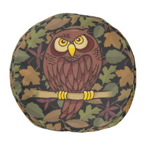 Owl Cartoon Pouf