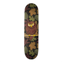 Owl Cartoon Skateboard