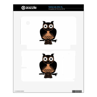 Owl cartoon skins for the DSi XL