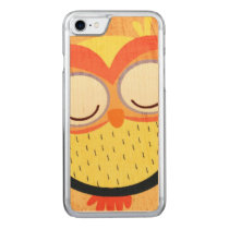 Owl Carved iPhone 8/7 Case