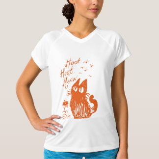 Owl Cat (Orange) T-Shirt