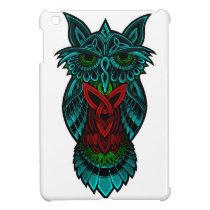 Owl Celtic Art iPad Mini Cover