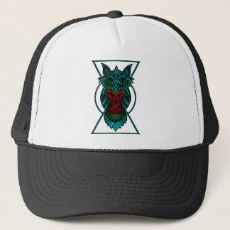 Owl Celtic Geometric Trucker Hat
