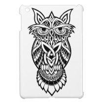 Owl Celtic Knot iPad Mini Cases