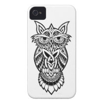 Owl Celtic Knot iPhone 4 Case