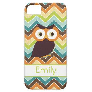 Owl {chevron} iPhone Case