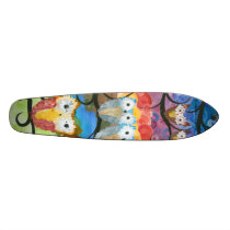Owl Chick Skate Boards
