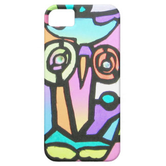 owl children's drawing iPhone SE/5/5s case