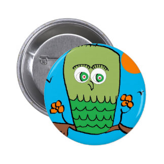 OWL CHILLIN BUTTONS