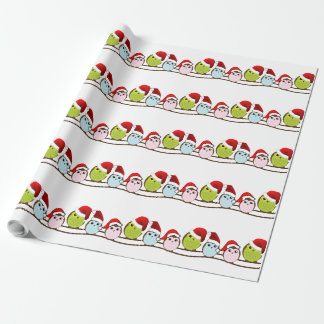 Owl Christmas Paper Gift Wrapping Paper