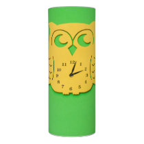 Owl clock flameless candle