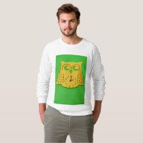 Owl clock sweatshirt