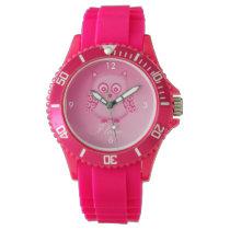 Owl Clock Wristwatch