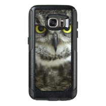 Owl Close Up OtterBox Samsung Galaxy S7 Case