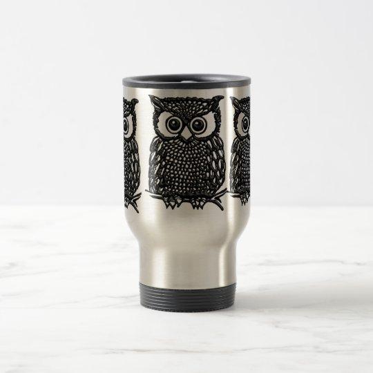 Owl Coffee mug, Travel mug or frosted mug cups