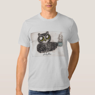 Owl Coffee Time - American Apparel Shirt