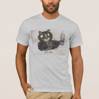 Owl Coffee Time - American Apparel Shirt